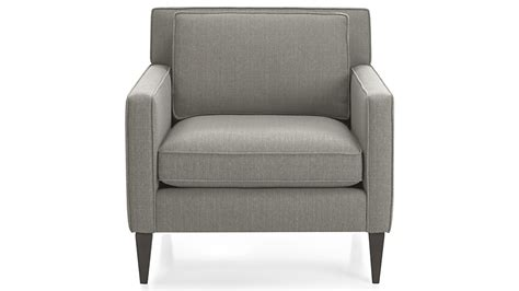 rochelle chair audra smoke crate and barrel