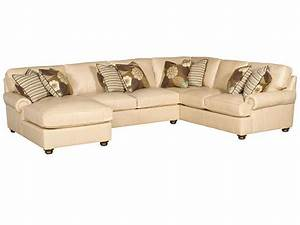 king hickory living room henson leather sectional 6000 With sectional sofa hickory nc