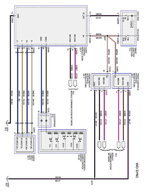 2003 Ford Escape Wiring Diagram by 2003 Ford Explorer Radio Wiring Diagram 2004 Ford