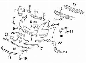 Cadillac Cts Tow Hook  Coupe  Cts