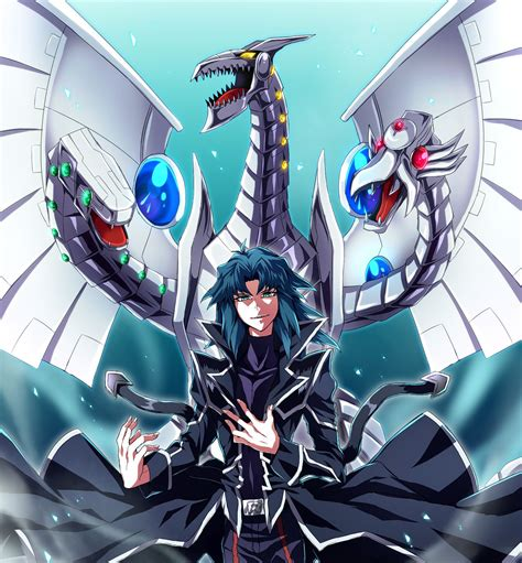 Yugioh Zane And Cyber End Dragon Images Pinterest