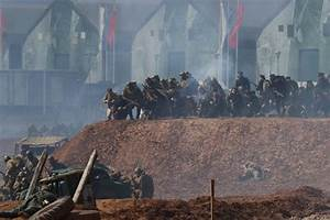 Russia stages mock invasion of Germany with troops, tanks ...