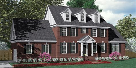 southern heritage home designs house plan    pendleton