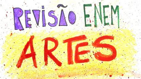 Artes   ENEM 2020   Enem e Vestibulares   Me Salva!