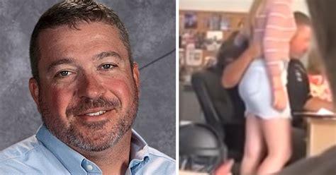 teacher  suspended  touching female student