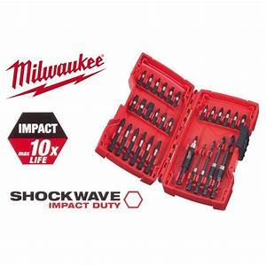 Coffret Embout De Vissage : milwaukee coffret 30 embouts de vissage shockwave ~ Dailycaller-alerts.com Idées de Décoration