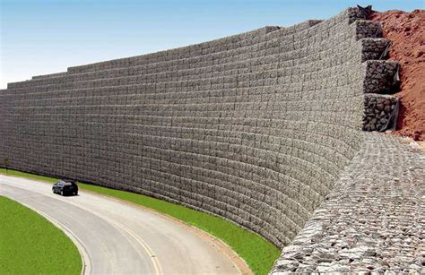 mur de sout 232 nement en gabion gabion conception