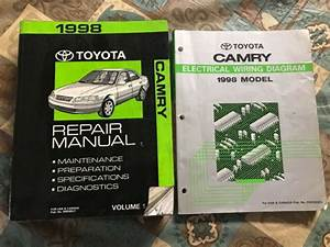 Toyota Camry Repair Manual 1 Electrical Wiring Diagram