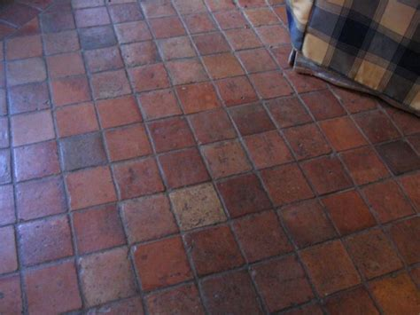 terracotta on terracotta floor terracotta