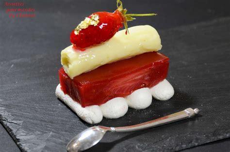 recettes de cuisine light croustillant meringué fraise rhubarbe pour un défi franco