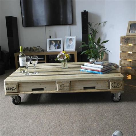 Some of those diy ideas are seriously popular on the net which is just ready to be yours. DIY One Pallet Coffee Table | Pallet Furniture Plans