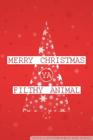 Merry Ya Filthy Animal Wallpaper - merry ya filthy animal 4k hd desktop wallpaper