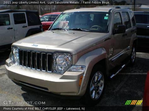 beige jeep liberty light sandstone metallic 2011 jeep liberty limited 4x4