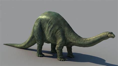 dinosaurus therizinosaurus brontosaurus 3d model max cgtrader