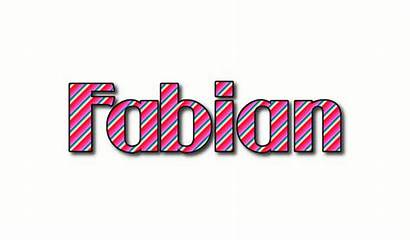 Fabian Stripes Logos Flaming Tool Vorname Mach