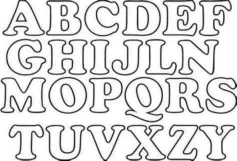 moldes de letras mayusculas para imprimir imagui letras patrones