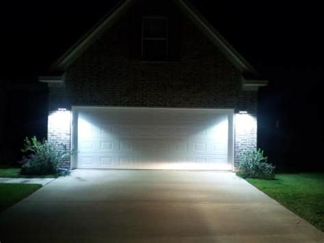use led wall mount lights for a security and