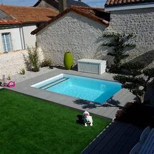 Piscine Avec Terrasse Bois : terrasse piscine amenagement ~ Nature-et-papiers.com Idées de Décoration