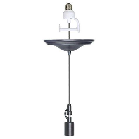 home decorators collection 8 in brushed bronze pendant