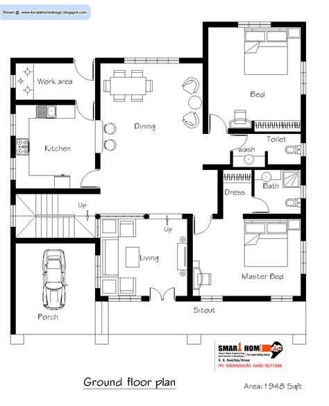 home building plans kerala home plan and elevation 2811 sq ft kerala
