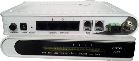 Customer Unit 1 Catv + 4 Fe + 2 Fxs/fxo