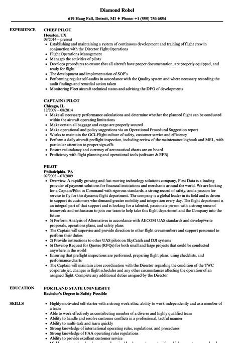 Entry Level Pilot Resume by Great Sle Pilot Resume Images Pilot Cover Letter