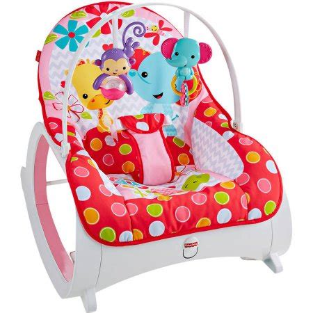 chaise fisher price musical fisher price infant to toddler rocker walmart com