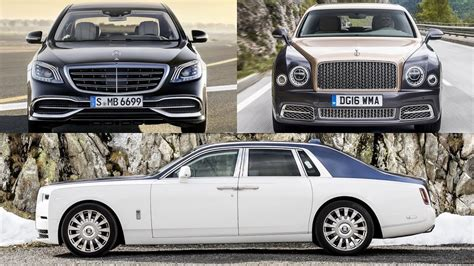 Rolls Royce Vs Maybach by 2018 Rolls Royce Phantom Vs 2018 Bentley Mulsanne Vs 2018