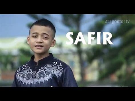 Nasyid Gontor Spesial Lebaran Safir Merantaulah Youtube