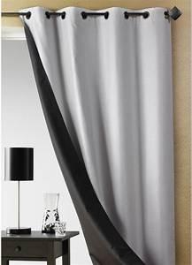 Double Rideau Blanc : rideau double rideau ~ Nature-et-papiers.com Idées de Décoration