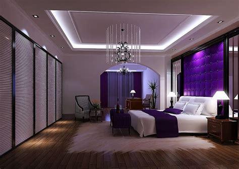 Luxurious Purple Bedroom Ideas For Comfort Sleep Padded