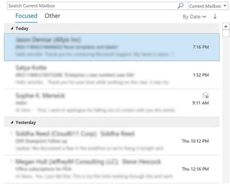 Office 365 Outlook Focused Inbox by Office 365 Email Message Encryption And Security Dummies