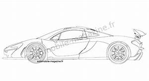 production mclaren p1 revealed in patent drawing With dodge demon concept