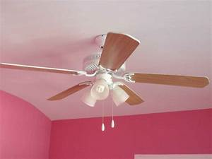 Ceiling fan and light blue shades nautical