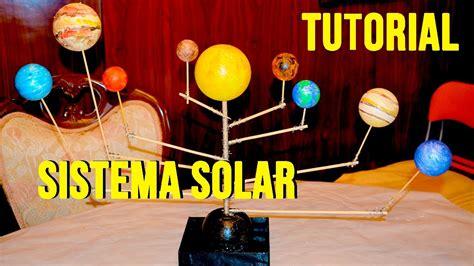 tutorial c 243 mo hacer sistema solar o planetario giratorio f 225 cil ni 241 os youtube