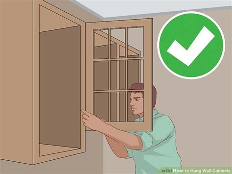 how to hang kitchen wall cabinets how to hang wall cabinets 15 steps with pictures wikihow 8673