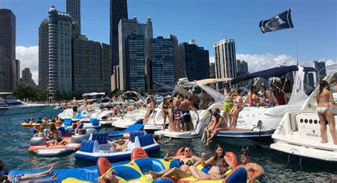 Chicago Annual Boat Party by Chicago Scene Boat Party Charter Boats Available