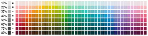 Every Shade Of Color by Colour Qr Codes Qrstuff
