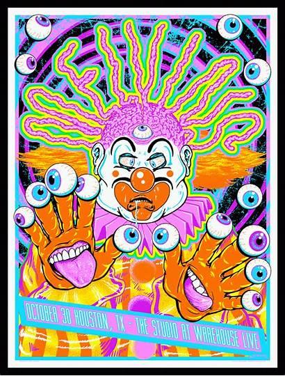Melvins Poster Houston Sharp Kyler Studio October