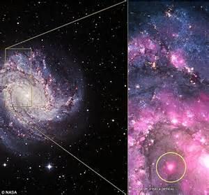 Mystery as NASA spots black hole shoot out 'super X-ray ...