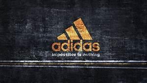 Hd Hintergrundbilder Adidas Logo Orange Hintergrund Grauen Streifen  Desktop Hintergrund