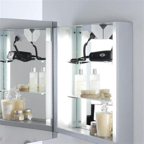 Bathroom Cabinet Mirror Shaver Socket  Bathroom Cabinets