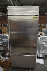 ge zicsnhrh  stainless bottom freezer refrigerator cd  hrt ebay