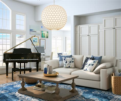 big  lies inspired coastal style living room