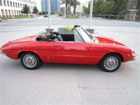 1969 Alfa Romeo Spider For Sale by 1969 Alfa Romeo Spider Duetto Classic Alfa Romeo Spider