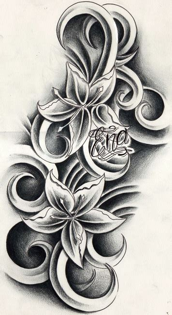 andriaj temporary flower tattoos designs