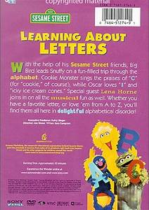 sesame street learning about letters dvd 2004 dvd empire With sesame street learning about letters dvd