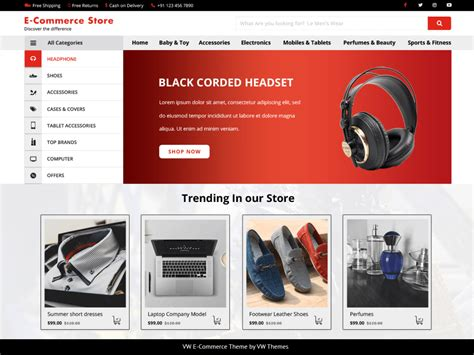 Ecommerce Themes Ecommerce Website Themes Free 2018 Traffic Solder