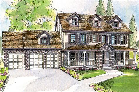 House Plans Colonial by Colonial House Plans Hanson 30 394 Associated Designs