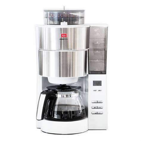 Best results for melitta bentz coffee maker. Melitta Aroma Fresh Grind and Brew 10-Cup Coffee Maker in White | MrOrganic Store